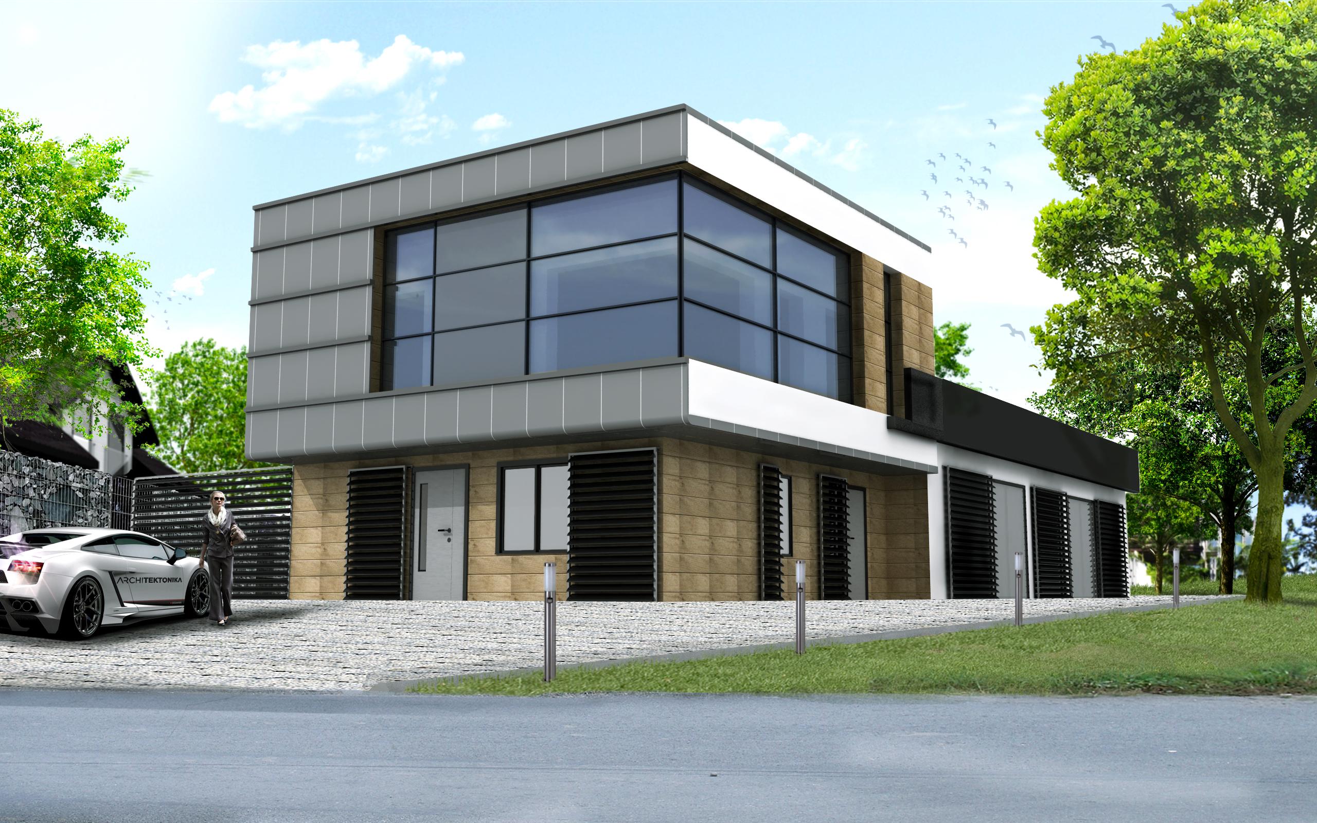 Budynek usługowy w Kozłowie